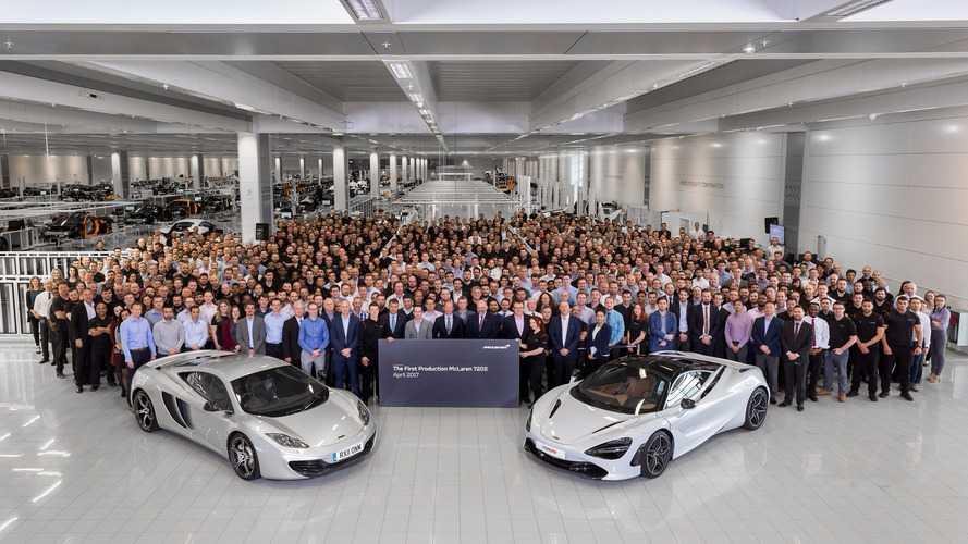 Hivatalosan is kezdetét vette Wokingban a McLaren 720S gyártása