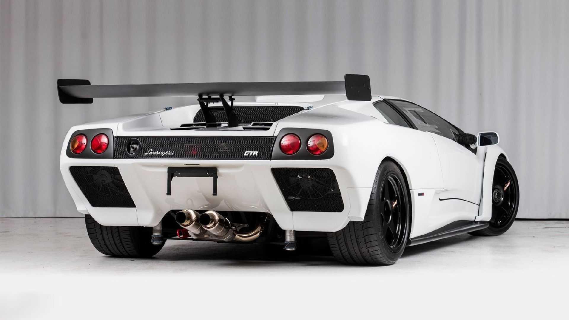590 Hp Lamborghini Diablo Gtr Is A Rare Bull Seeking New Pasture