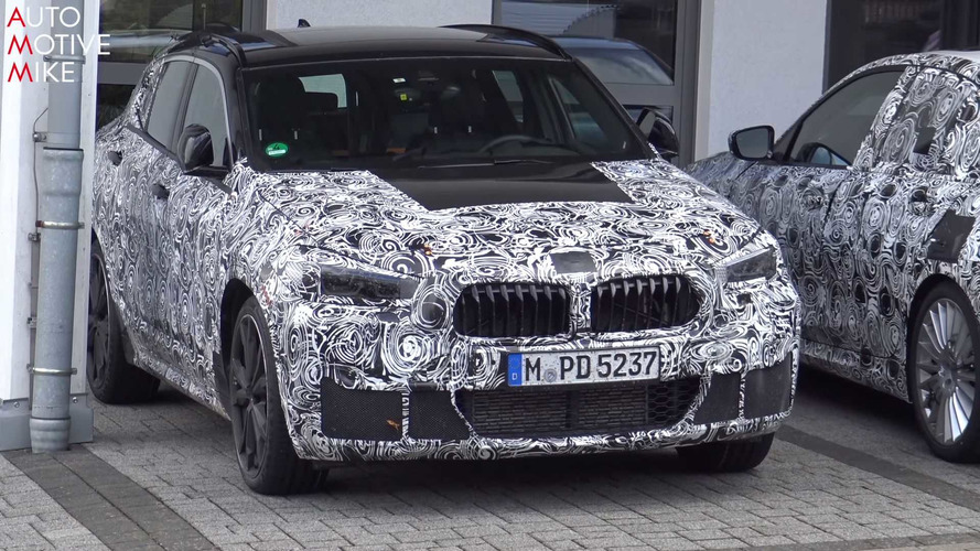 BMW X2 Spied Working Hard At Nurburgring