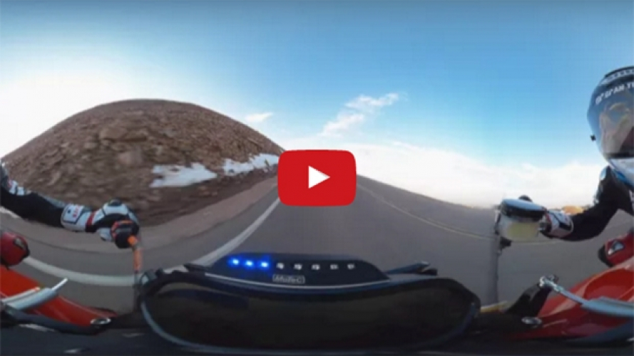 Victory Empulse RR alla Pikes Peak 2016: il video