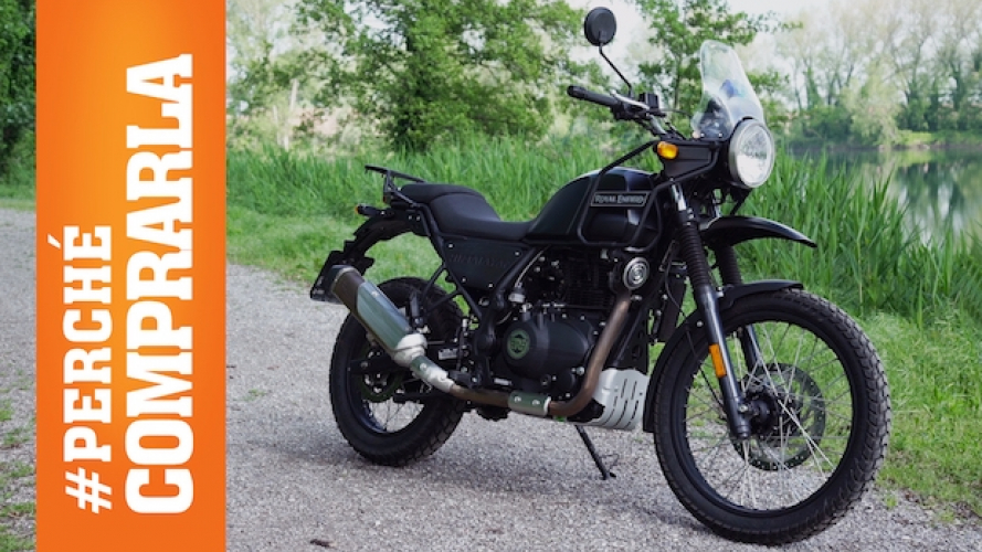 Royal Enfield Himalayan: Perché comprarla... e perché no [VIDEO]