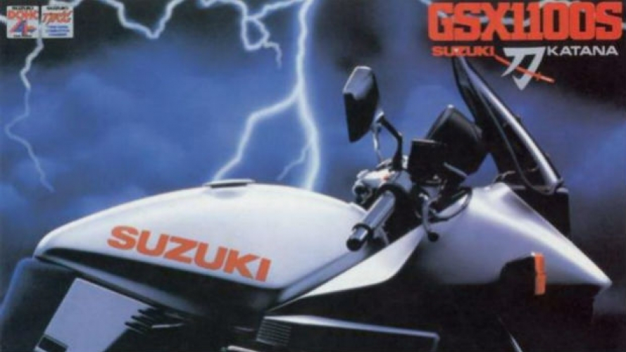 Suzuki, la nuova Katana ad Intermot [VIDEO]