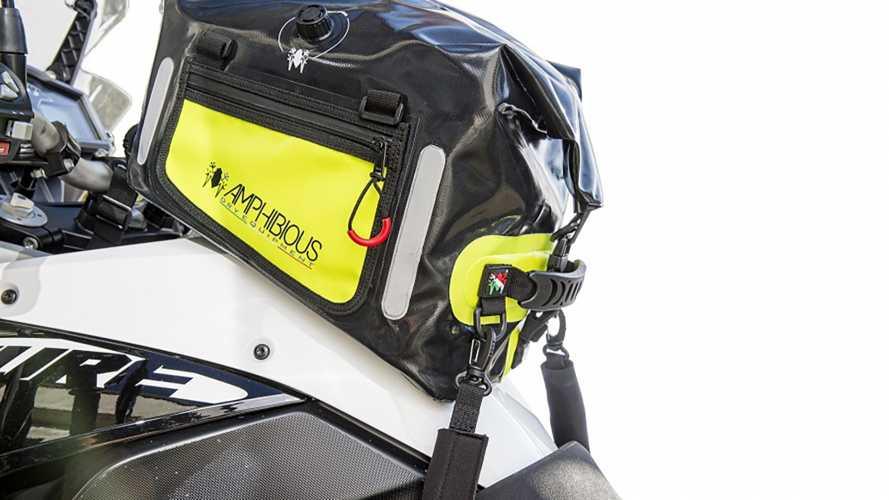 Amphibious Tankbag, la borsa serbatoio universale