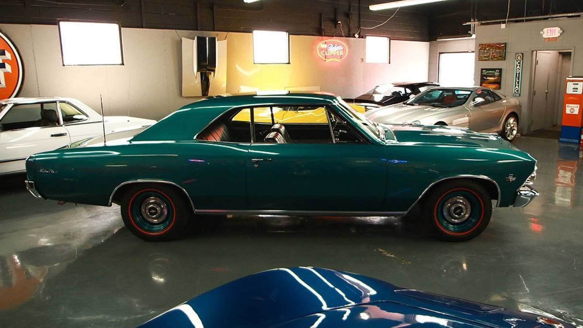 """[""""Immaculate 1966 Chevrolet Malibu Is A Mean Muscle Car""""]"""