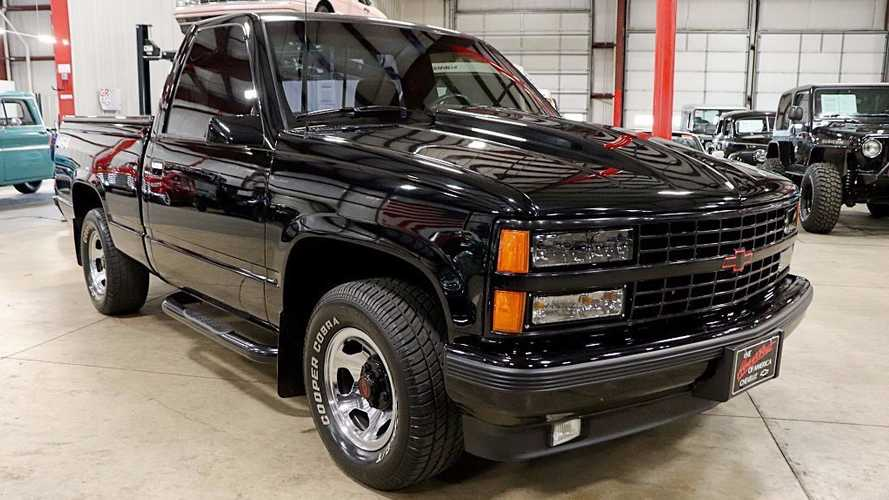 1990 Chevy 1500 454 SS Represents 90s Performance Truck Culture