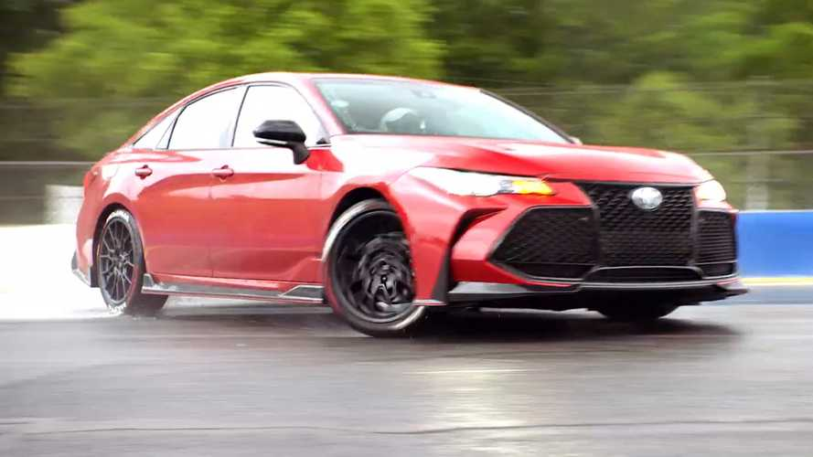 Watch Pro Drifter Ken Gushi Get Sideways In A Toyota Avalon TRD