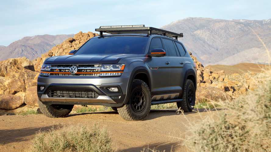 VW Trademarks 'Basecamp' Name For Possible Off-Road Atlas