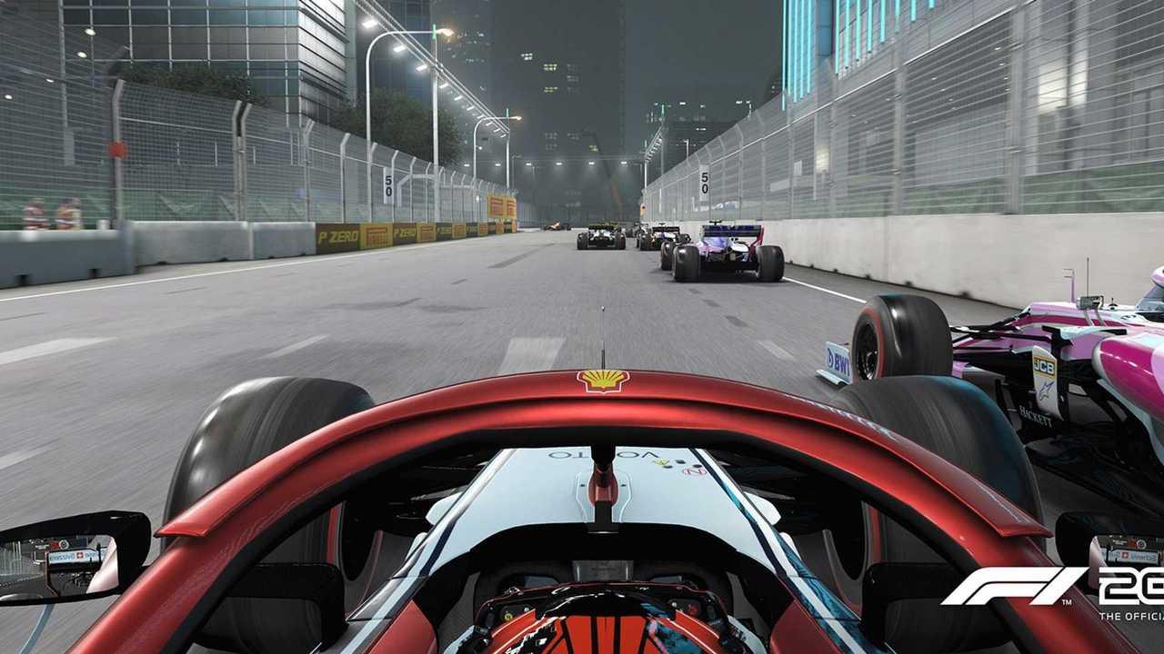 Codemasters F1 2019 screenshot