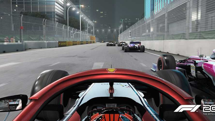 Night lighting upgrades for F1 2019 game revealed