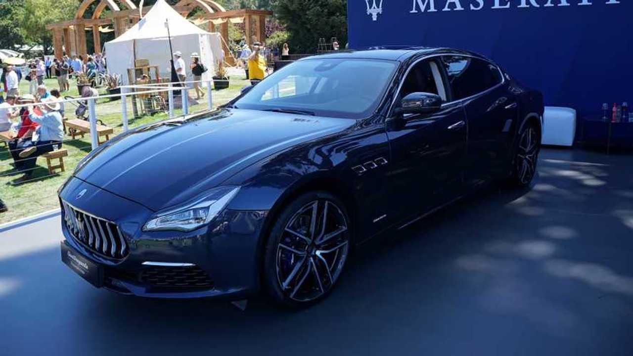 Maserati Quattroporte Monterey Car Week