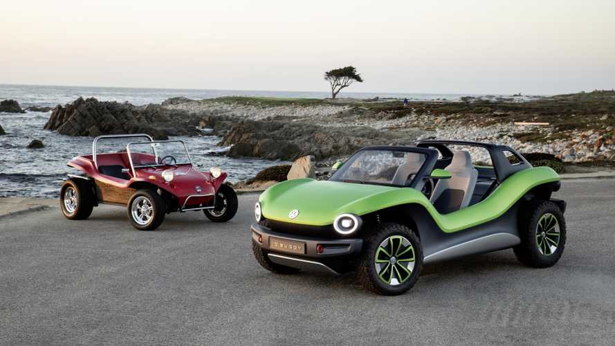 Volkswagen Shows Off ID. Buggy In California (w/Video)