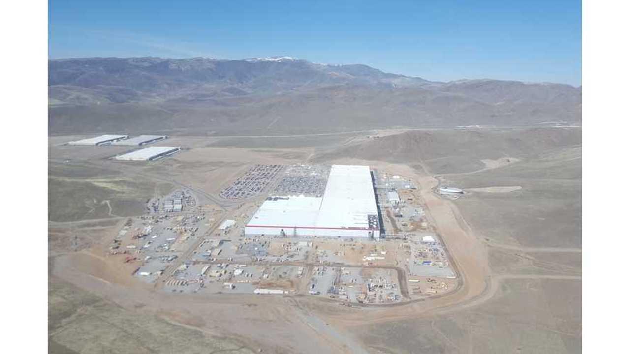 Tesla Gigafactory (source: Teslarati )