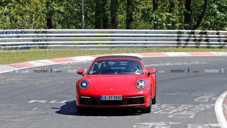 2020 Porsche 911 Targa Spy Photos