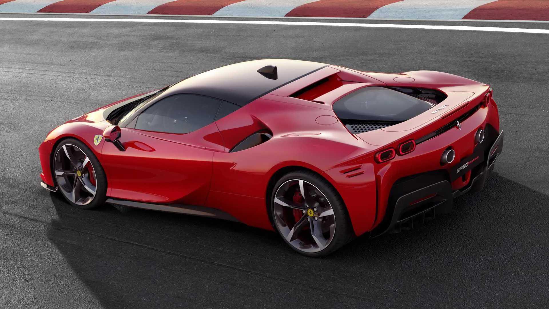 Ferrari won't launch a dedicated EV supercar until after 2025
