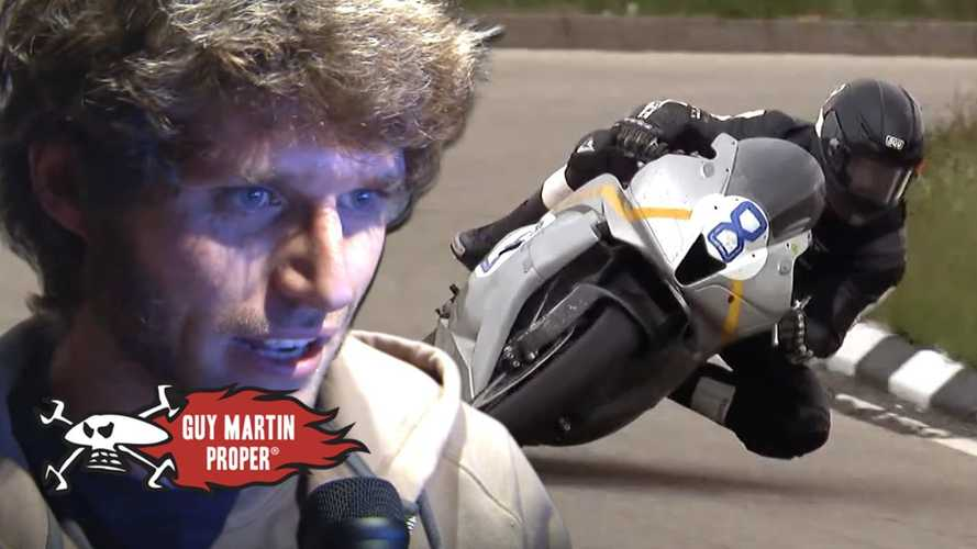 Guy Martin talks us around The Isle Of Man TT