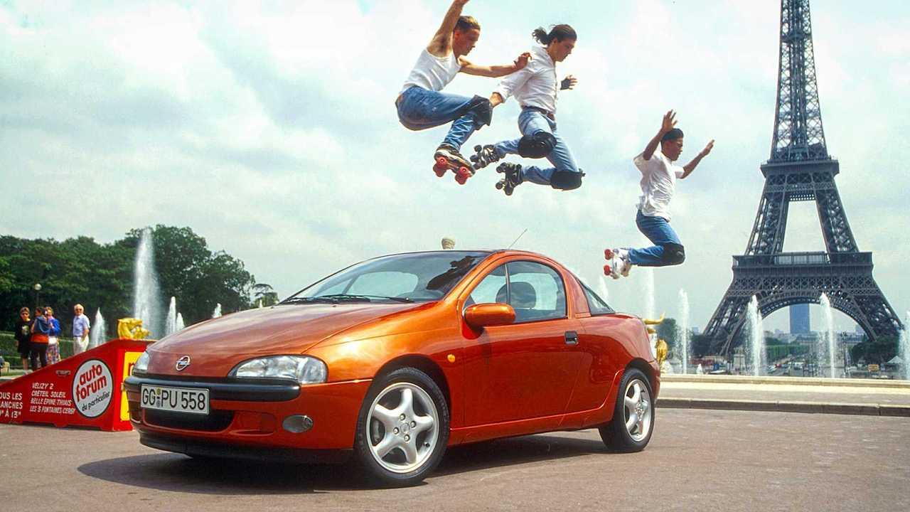 Opel Corsa Historie: Tigra A (1994)