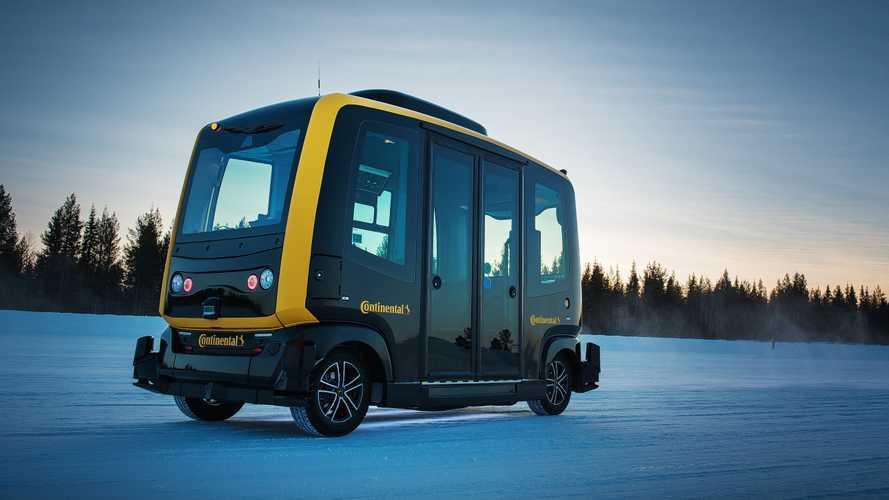 Continental CUbE: Autonom fahrender Shuttle-Bus zur Sensor-Erprobung
