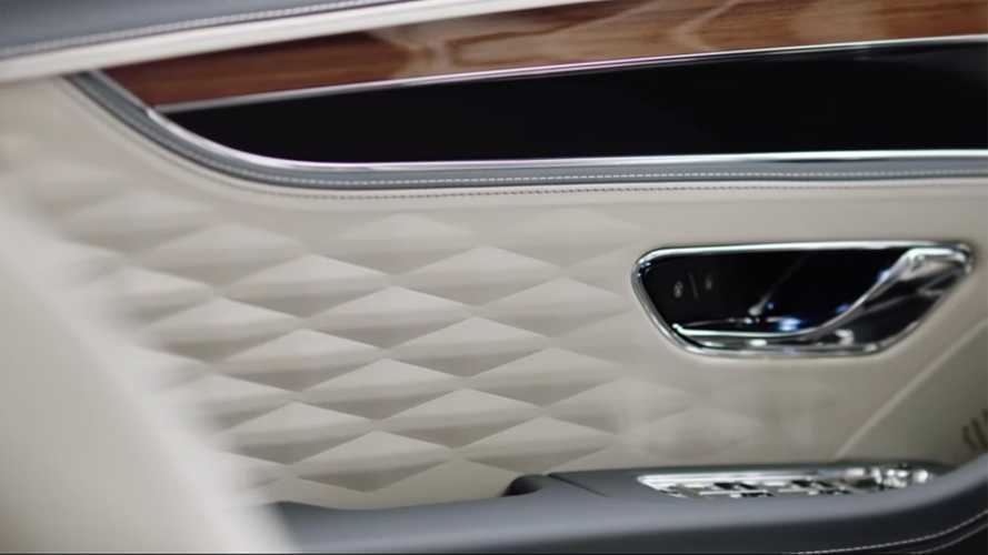 Bentley Flying Spur Shows Off Its New Cabin In Teaser Video
