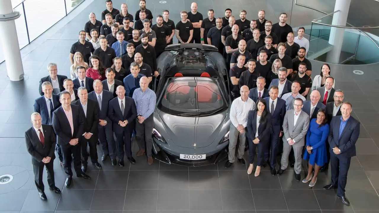 20,000th MPC McLaren 600LT Spider