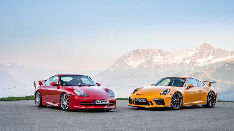 El Porsche 911 GT3 celebra su 20º Aniversario