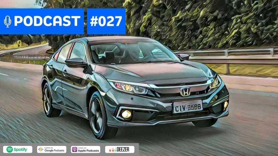 Motor1.com Podcast #27: Civic 2020 mudou o suficiente para enfrentar o novo Corolla?