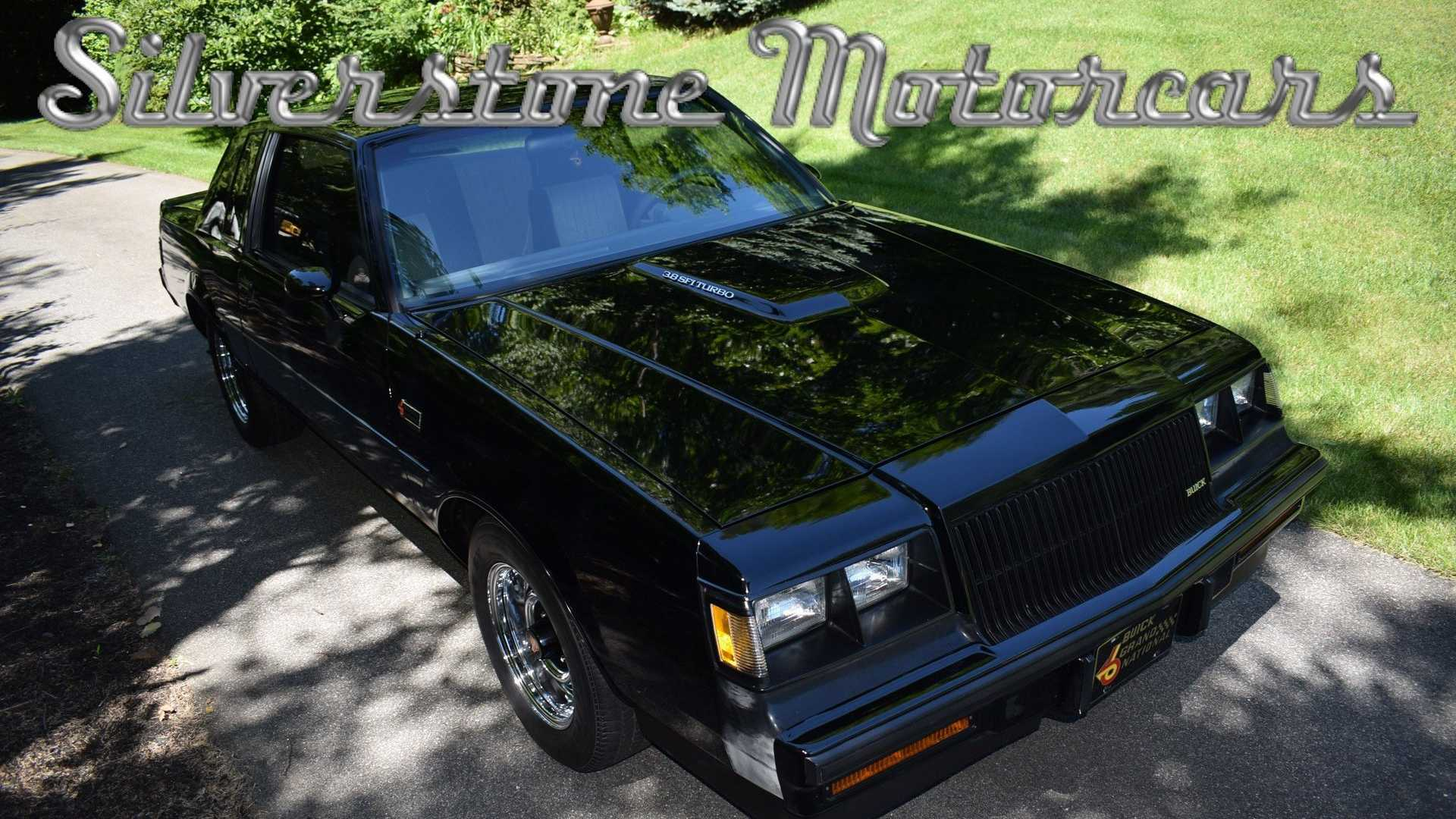"[""Low-Mileage 1987 Buick Grand National Seeks New Garage""]"