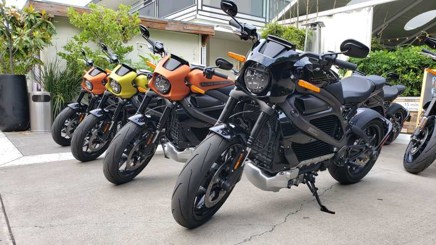 2020 Harley-Davidson LiveWire First Ride