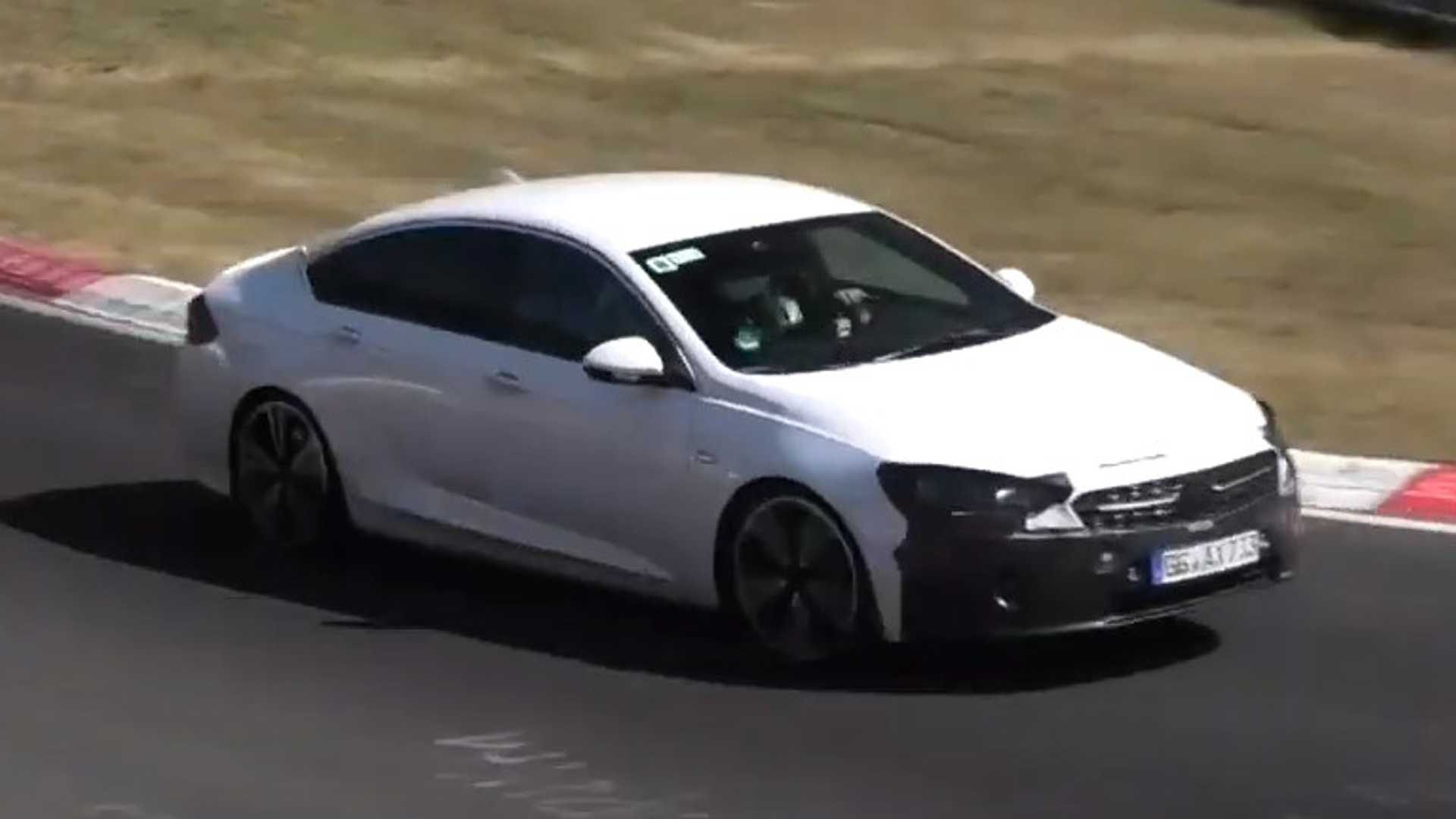 2020 Opel Insignia Visits Nurburgring For High Speed Test Session