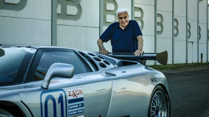 La Bugatti EB110 et Romano Artioli foto  Motor1.com France