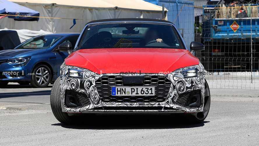 Photos espion - Audi S5 Cabriolet (2019)