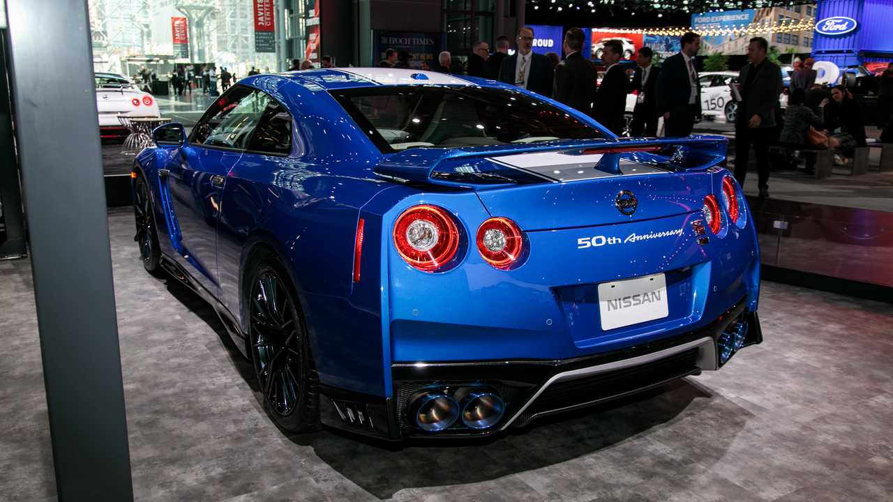2020 Nissan Gt R 50th Anniversary Edition Brings Back Bayside Blue Update