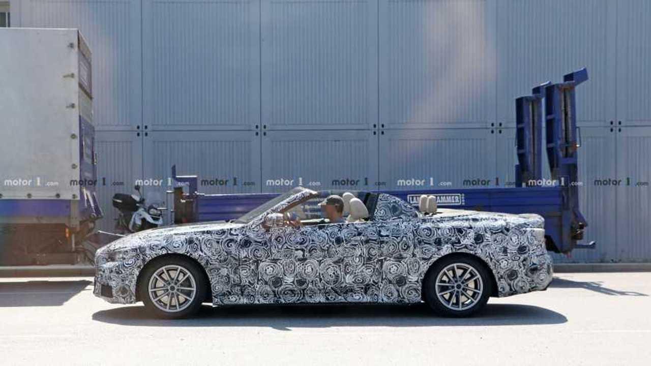 Photo d'espionnage convertible BMW Série 4 2020