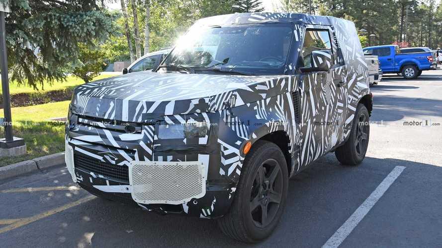 Land Rover Defender (2020): Erlkönigbilder aus den USA