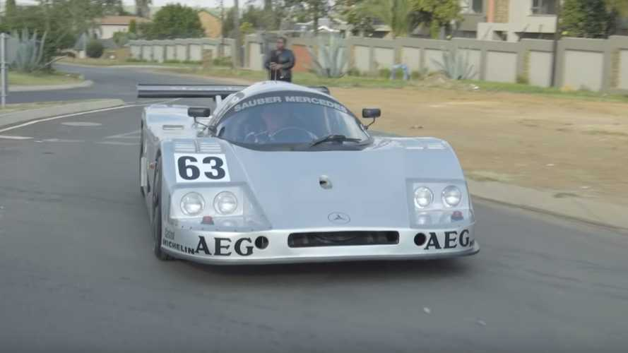 Skilled mechanic creates epic Sauber-Mercedes C9 replica