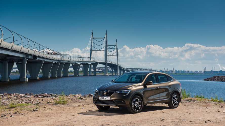 Renault Arkana - первый тест-драйв