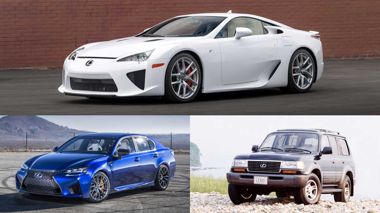 Lexus: First-Gen LX, GS F, LFA