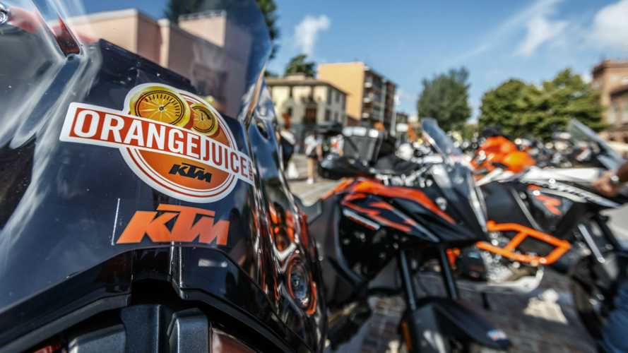 "KTM, tornano i weekend ""Orange Juice"""