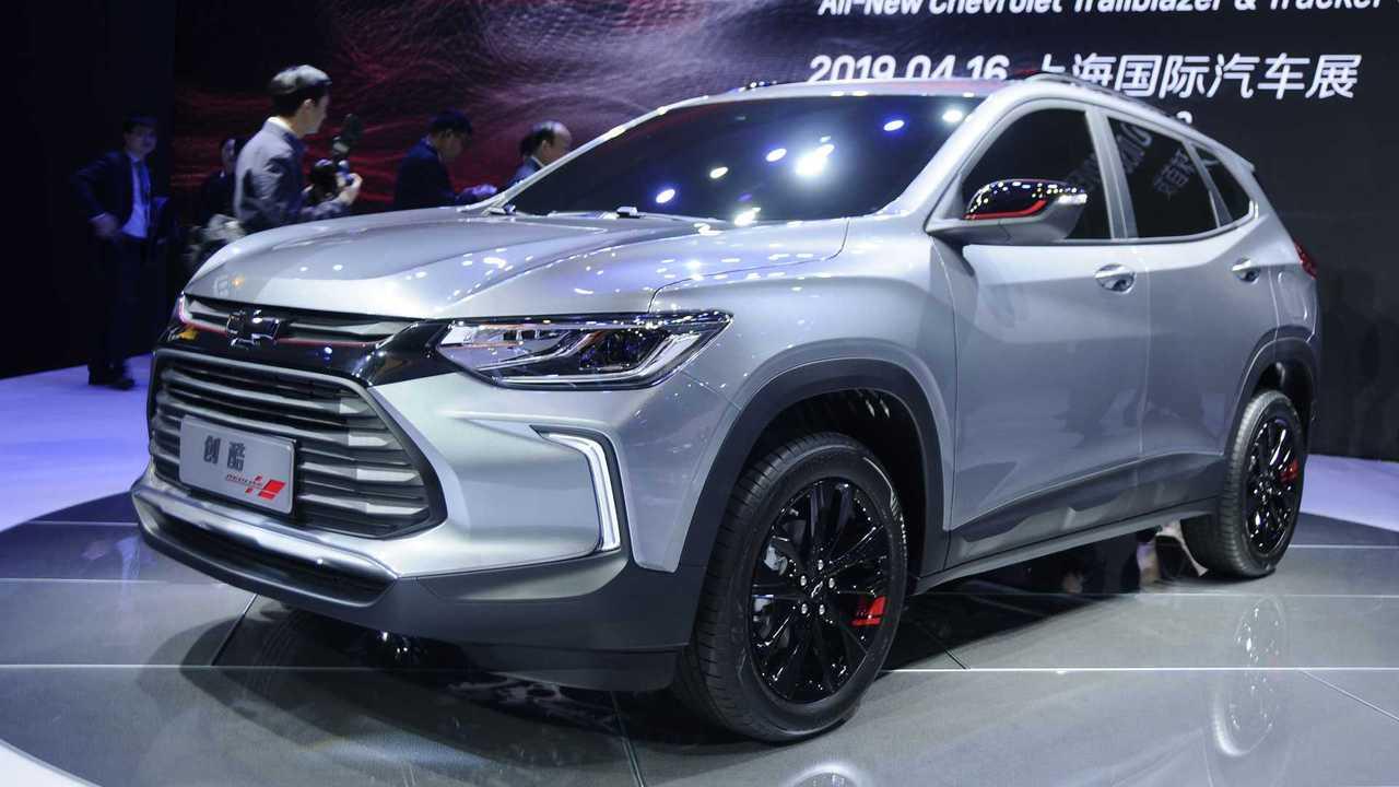 Chevrolet Tracker 2020 - Salão de Xangai