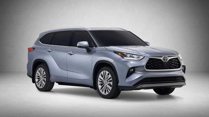 Раскрыты характеристики нового Toyota Highlander для России