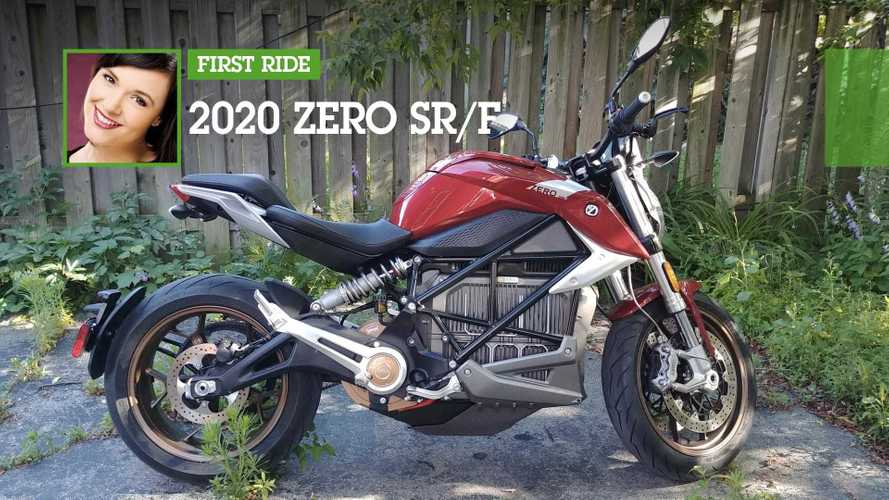 First Ride: 2020 Zero SR/F