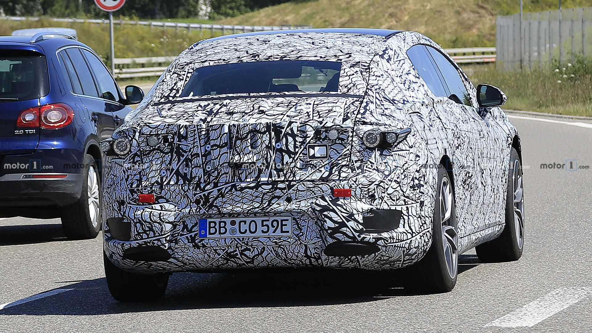 2021 - [Mercedes] EQS - Page 2 2021-mercedes-eqs-spy-photo