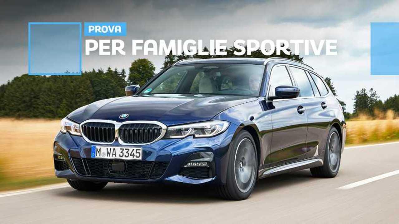 Nuova BMW Serie 3 Touring, la prova su strada