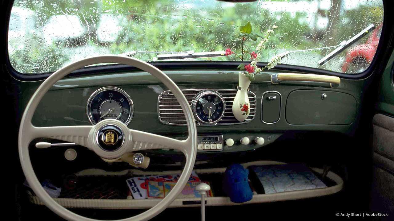 Auto-Accessoires der 70er bis 90er: Blumenvase