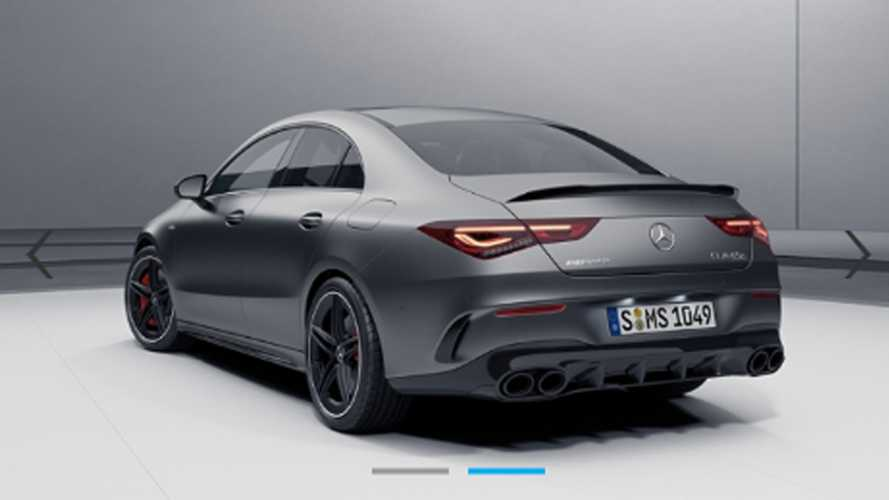Mercedes-Benz CLA 45 AMG Leaked Photos