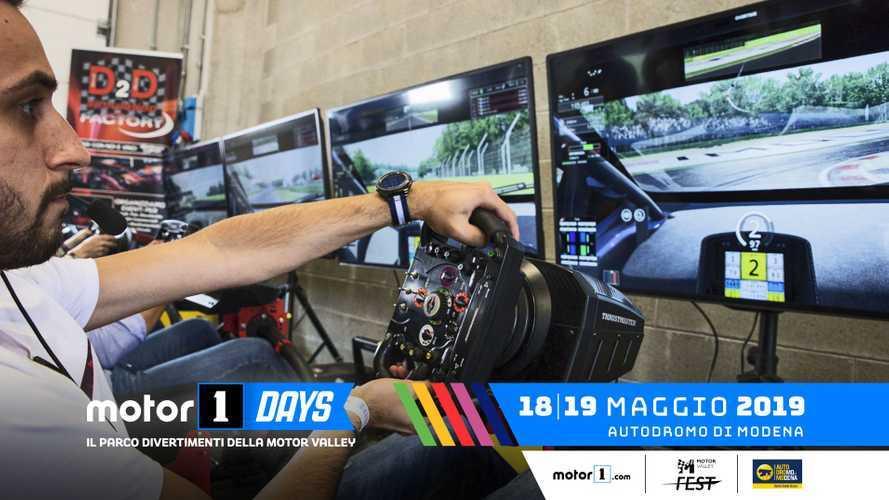 Motor1Days, la casa degli appassionati di racing game