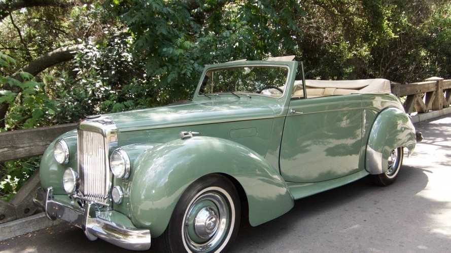 Rare Willow Green 1951 Alvis TA21 Drophead Coupe By Tickford
