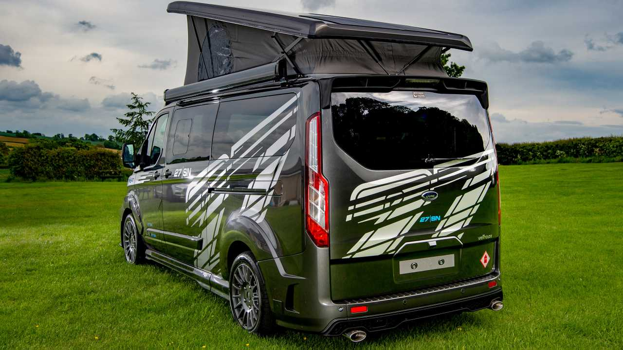 Ford Transit Camper Chock-Full Of Upgrades, Costs Nearly