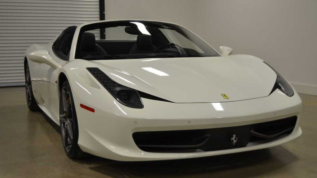 Catch This 2013 Ferrari 458 Spider If You Can