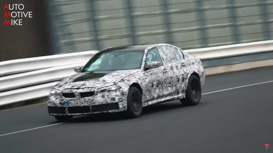 2021 BMW M3 Spy Screenshots