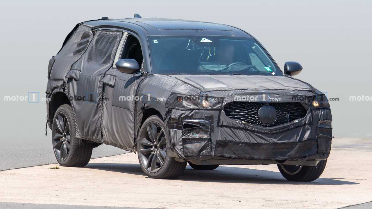 2020 Acura Mdx Type S Spied Showing Its Grille And Not Much Else